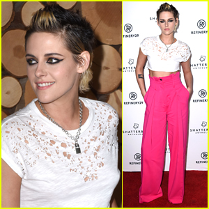 Kristen Stewart Goes Super Bold for a Screening of 'Come Swim'!