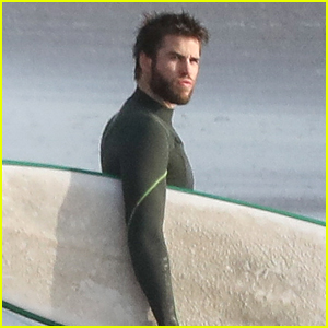Liam Hemsworth Catches Some Waves in Malibu!