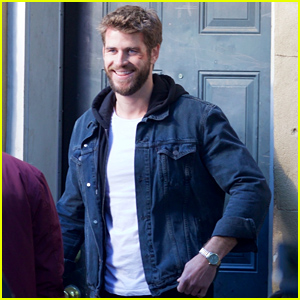 Liam Hemsworth Is All Smiles While Filming His New Movie 'Killerman'!