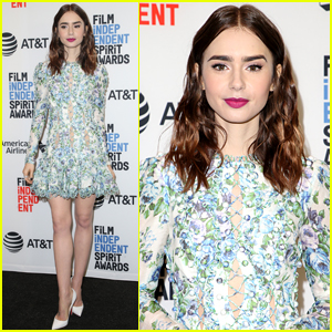 Lily Collins Announces the Film Independent Spirit Awards 2018 Nominations