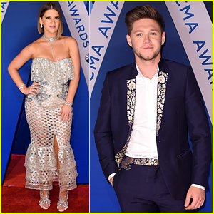 Maren Morris & Niall Horan Show Off Their Styles at CMA Awards 2017