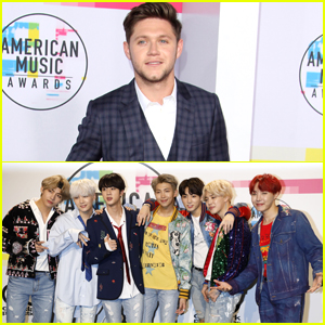 Niall Horan Gives BTS Sound Advice Before AMAs Performance