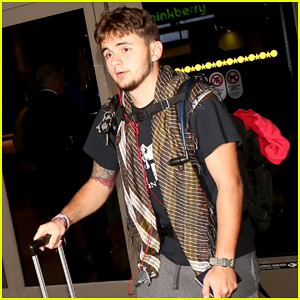 Prince Jackson Touches Down at LAX Weeks After Motorcycle Accident