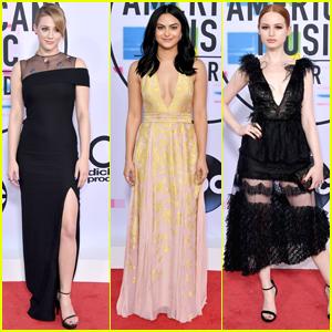 'Riverdale' Stars Lili Reinhart, Camila Mendes & Madelaine Petsch Hit AMAs 2017 Together