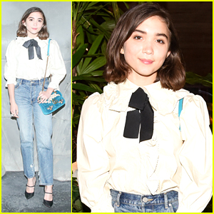 Rowan Blanchard on Teens Having A Voice: 'We Don't Want To Be Told It's All Going To Be Okay'