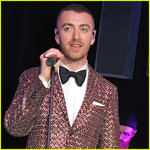 Sam Smith Performs at Elton John's AIDS Foundation Event