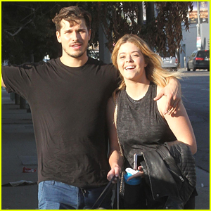 Sasha Pieterse Hits Dance Studio For DWTS Finale Return