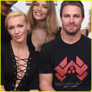 Stephen Amell Sends Thoughts to Katie Cassidy After Her Dad's Passing