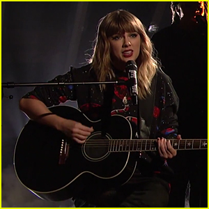 Taylor Swift Performs Stripped-Down Version of 'Call It What You Want' on 'SNL' (Video)