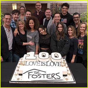 Maia Mitchell, David Lambert & 'The Fosters' Cast Celebrate 100 Episodes