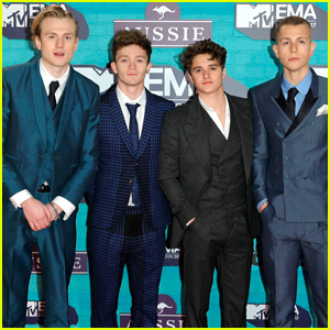 The Vamps Look So Handsome at the MTV EMAs!