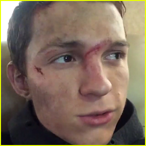 Tom Holland Broke His Nose Again While Wrapping New Movie 'Chaos Walking'