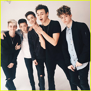 Why Don't We Freaks Out Seeing Themselves on a Times Square Billboard