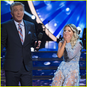 Witney Carson Responds to Tom Bergeron's Bizarre Comment on 'DWTS'