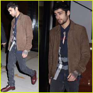 Zayn Malik Heads Out For The Evening in NYC