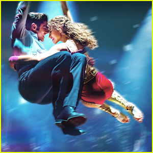 Zendaya & Zac Efron Fly Into The Air on New ' Greatest Showman' Poster