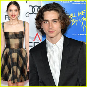 Timothee Chalamet & Zoe Kazan Bring 'Call Me By Your Name' to AFI Fest