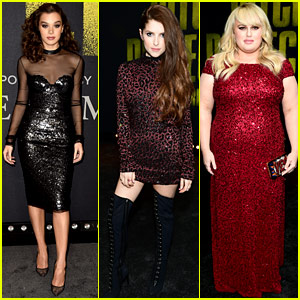 Hailee Steinfeld Joins the Barden Bellas at 'Pitch Perfect 3' Hollywood Premiere!