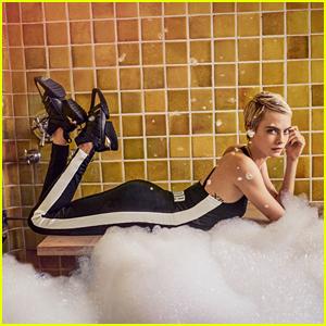 Cara Delevingne Stars in Puma's Latest Fashion Campaign!