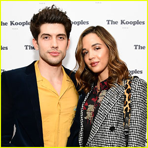 Carter Jenkins & Georgie Flores Have Helium High At Kooples Event