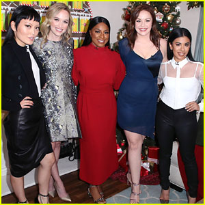 Chrissie Fit & 'Pitch Perfect' Girls Stop By Hallmark's Home & Family