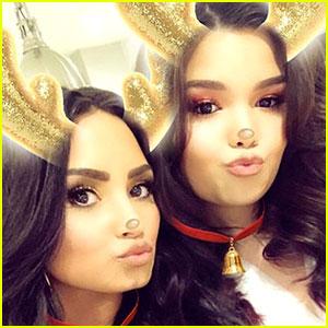 Demi Lovato & Sister Madison De La Garza Hit the Dance Floor at Madison's 16th Birthday Party