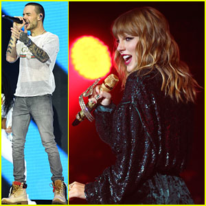Taylor Swift & Liam Payne Take The Stage at Capital FM Jingle Bell Ball 2017