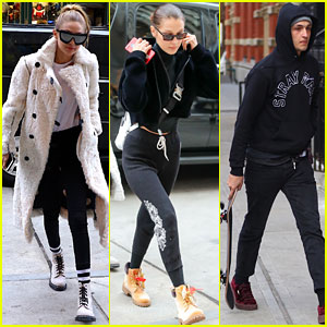 Hadid Siblings Get in Some Family Bonding Time in NYC