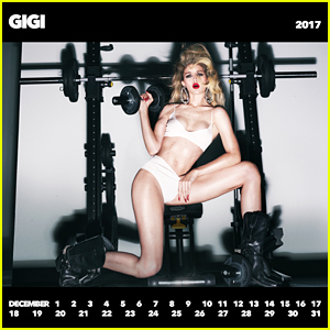 Gigi Hadid Poses for 'CR Girls 2018' Calendar to Support the Special Olympics!