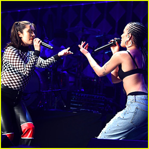 Lauren Jauregui Surprises NYC's Jingle Ball Concert with Halsey!