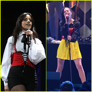 Camila Cabello, Halsey & More Heat Up Hot 99.5's Jingle Ball 2017!