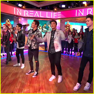 In Real Life Perform 'Eyes Closed' On 'Good Morning America'!