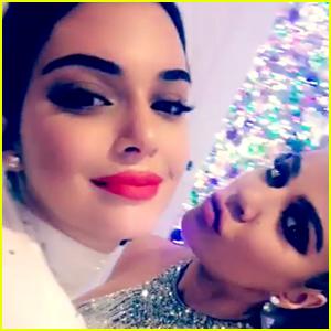 Kendall Jenner Celebrates Christmas Eve with Pregnant Sister Khloe Kardashian!