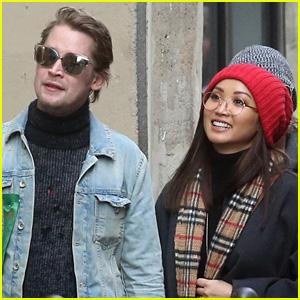 Brenda Song Looks So Happy with Boyfriend Macaulay Culkin!