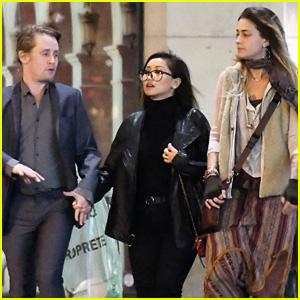 Paris Jackson Hangs Out with Godfather Macaulay Culkin & His Girlfriend Brenda Song