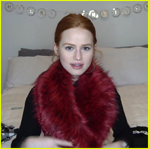 Madelaine Petsch Does Winter Clothing Haul, Plus Cruelty Free Makeup Tutorial