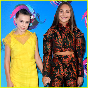 Millie Bobby Brown Got Maddie Ziegler a Gucci Christmas Present!