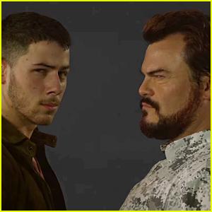 Nick Jonas Parodies 'Jumanji' in New Music Video with Jack Black!