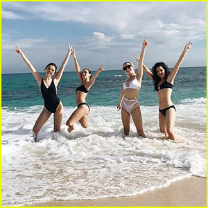 Selena Gomez Hits the Beach in Mexico With Her BFFs