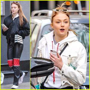 Sophie Turner Seen Out & About in New York City This Weekend!