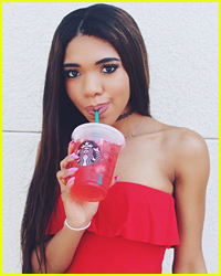 Teala Dunn Tries Out Almost All Of The Drinks at Starbucks