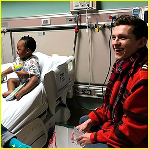 Tom Holland Opens His Heart During Visit to Burn Center & Brings Children Christmas Gifts
