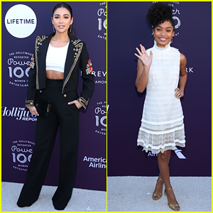 Shay Mitchell & Yara Shahidi Join Forces at THR's Women In Entertainment Event
