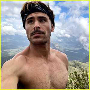 Zac Efron Goes Hiking for Christmas... Shirtless!