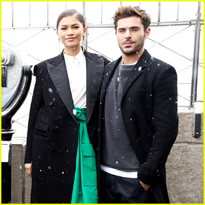 Zendaya Stays Stylish Even in the Snow!
