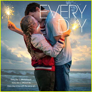 Angourie Rice & Owen Teague Kiss On New 'Every Day' Poster