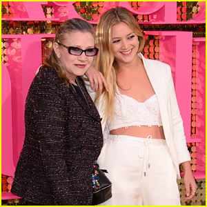 Billie Lourd Once Tried To Sneak Into a 'Star Wars' Screening With Mom Carrie Fisher