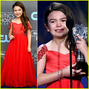 Brooklynn Prince Wins a Critics' Choice Award at Age Seven!