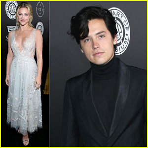 Lili Reinhart & Cole Sprouse Go to Art of Elysium's Heaven Gala!
