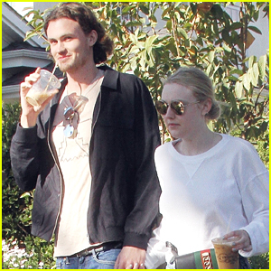 Dakota Fanning & Boyfriend Henry Frye Hold Hands on Lunch Date!